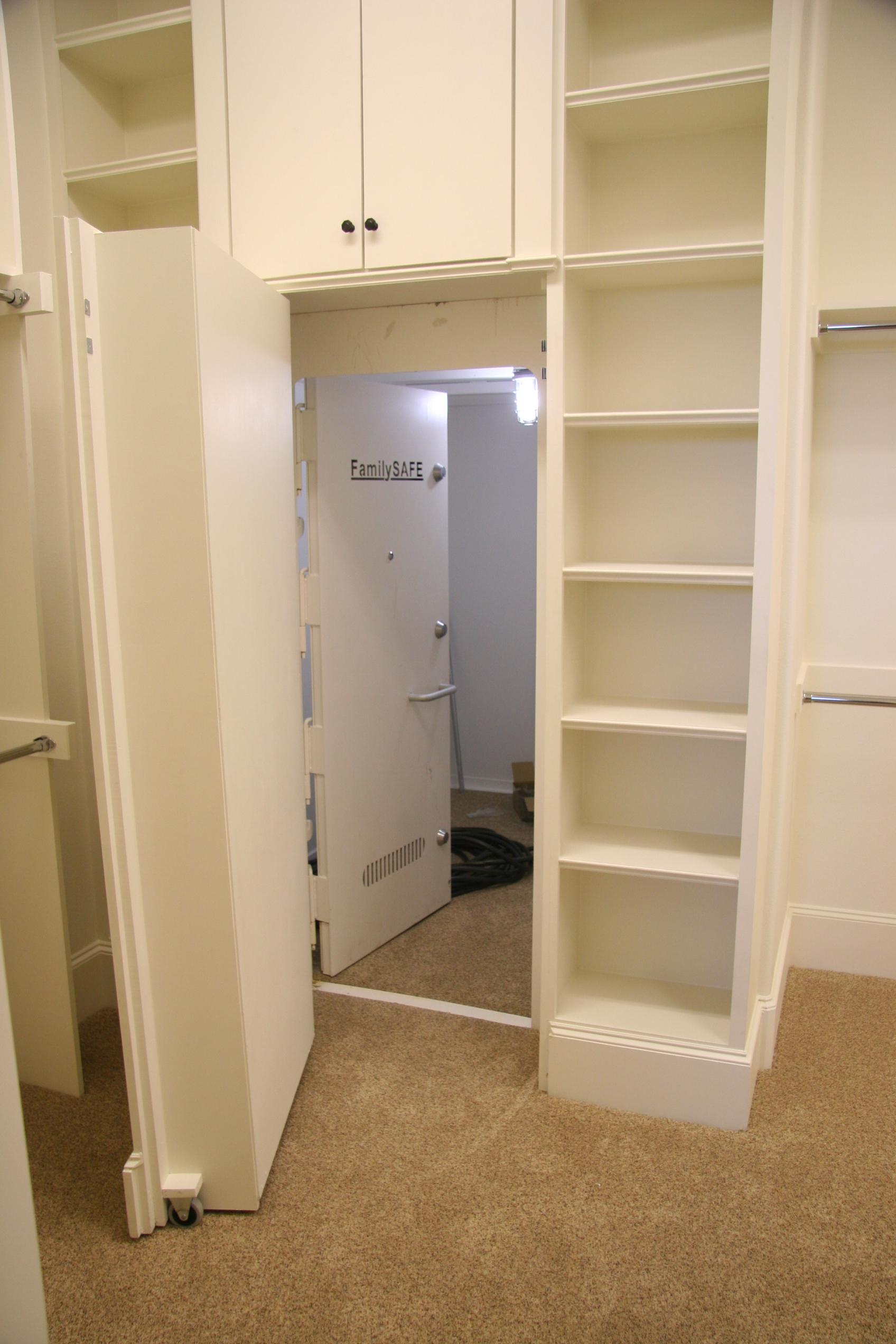 Frisco Custom Home – safe room completed – J Holland Custom Homes